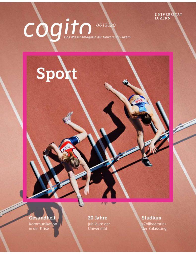 Bild der Frontseite des Studentenmagazins Cogito der Uni Luzern