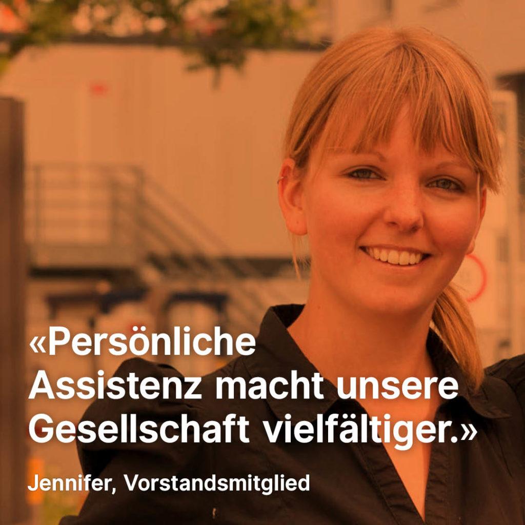 Porträt Jennifer Zuber