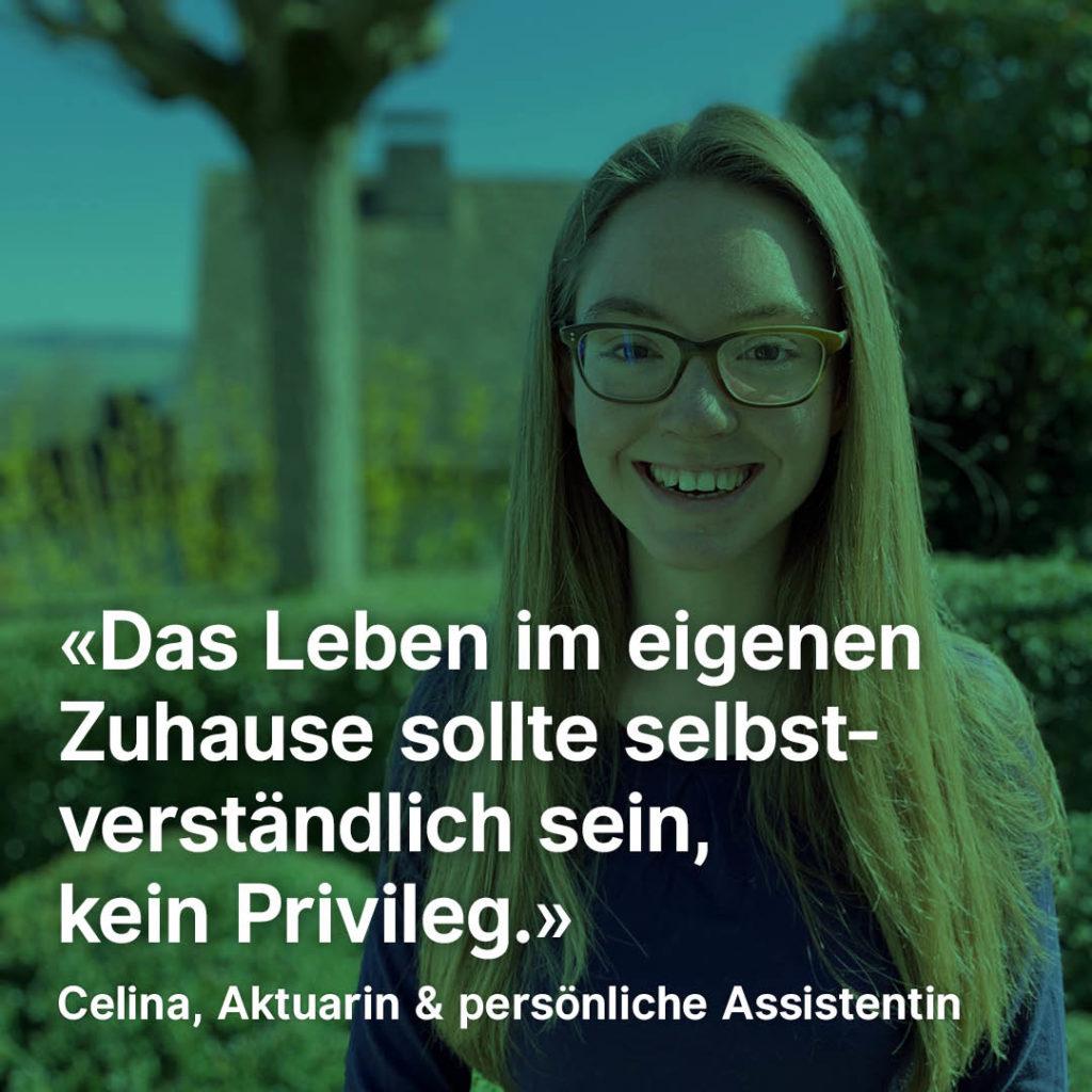 Porträt von Celina Imhof