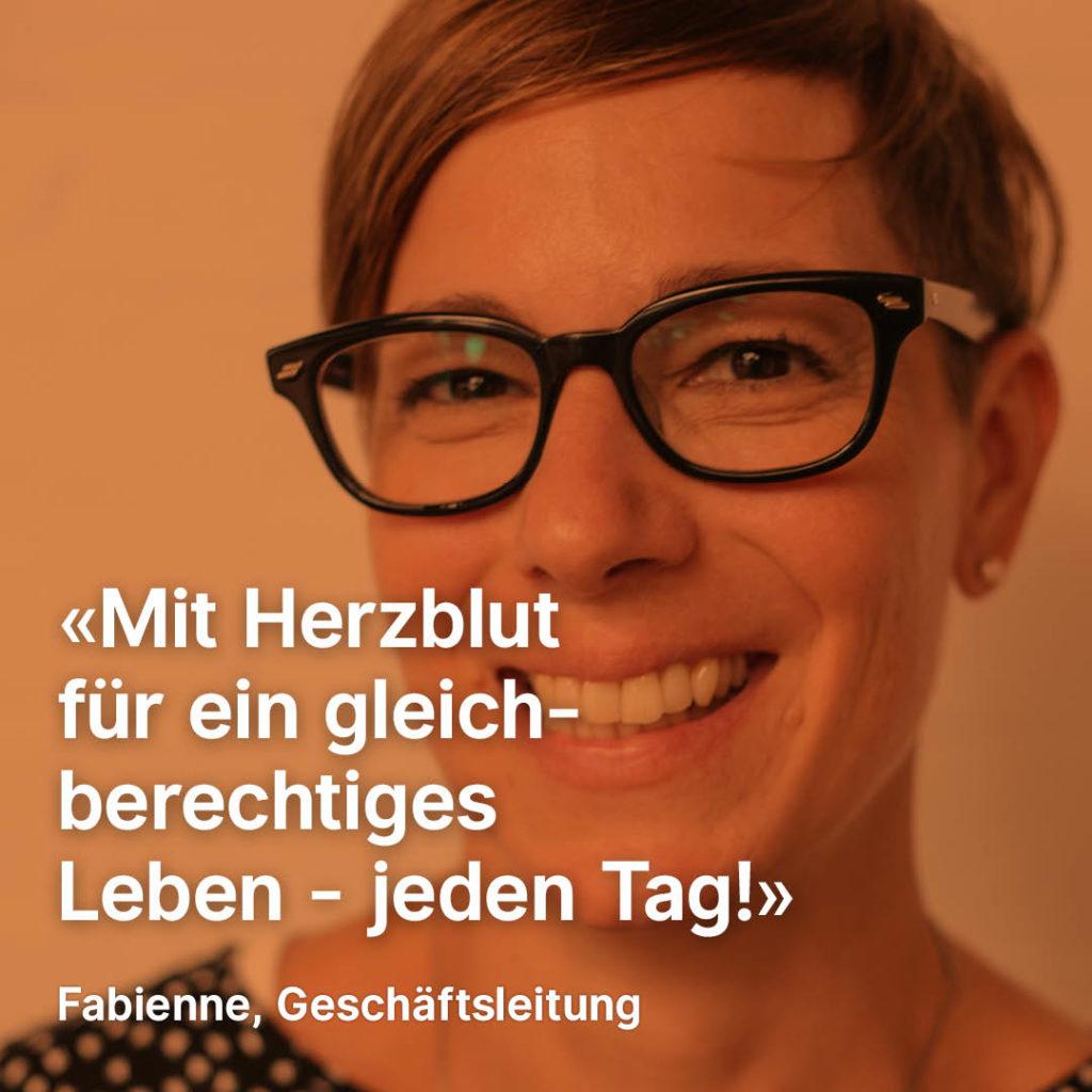 Porträt von Fabienne Locher